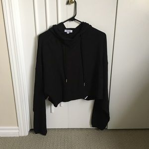 NWT black hoodie